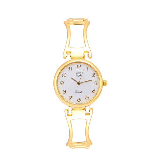 Shostopper Marvellous White Dial Analogue Watch For Women - SJ62044WW