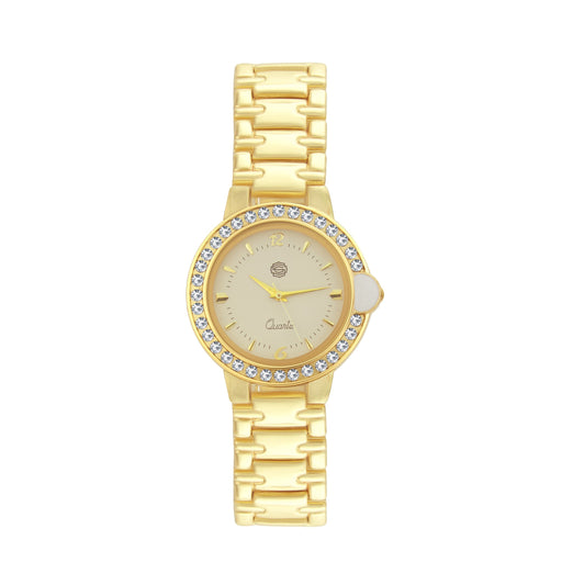 Shostopper Adorable White Dial Analogue Watch For Women - SJ62050WW