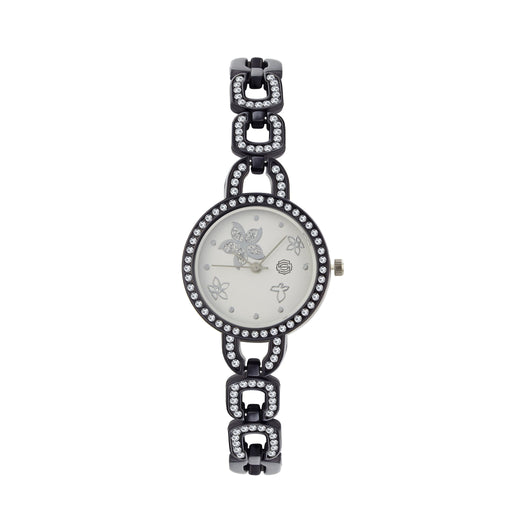 Shostopper Glorious White Dial Analogue Watch For Women - SJ62056WW