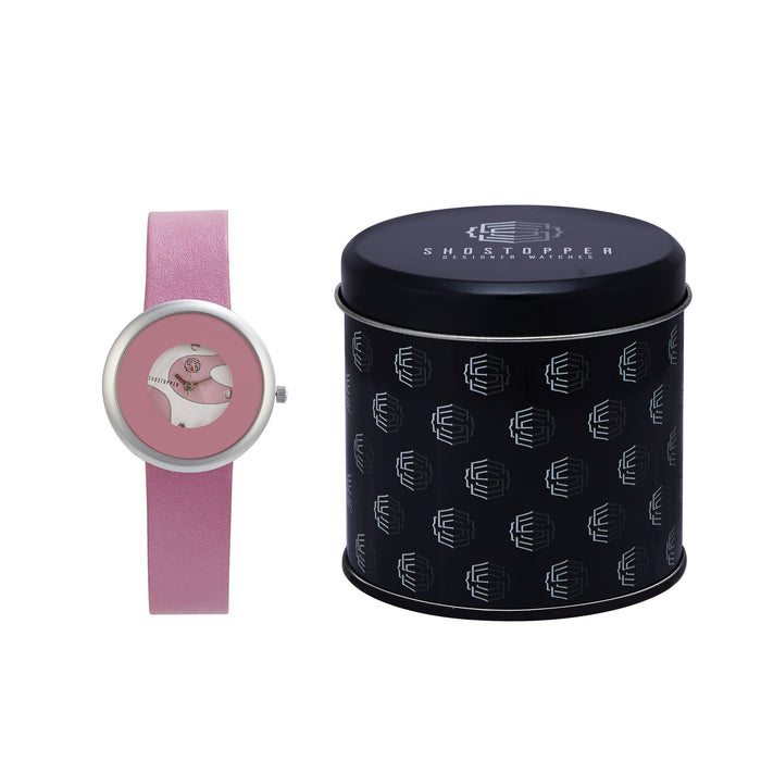 Shostopper Cutie Pie Pink Dial Analogue Watch For Women - SJ62059WW-1