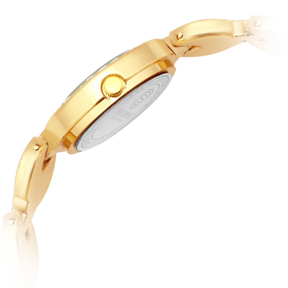 Shostopper Lovable Golden Dial Analogue Watch For Women - SJ62063WW