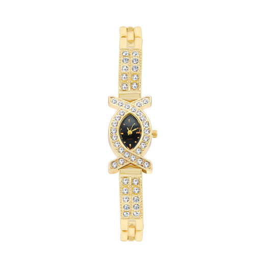 Shostopper Antique Black Dial Analogue Watch For Women - SJ62065WW