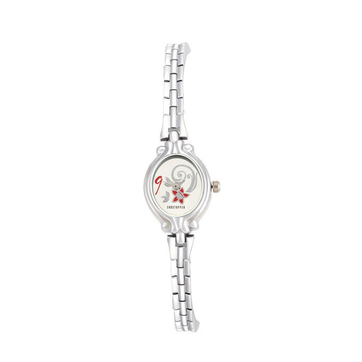 Shostopper Star Silver Dial Analogue Watch for Women - SJ62066WW