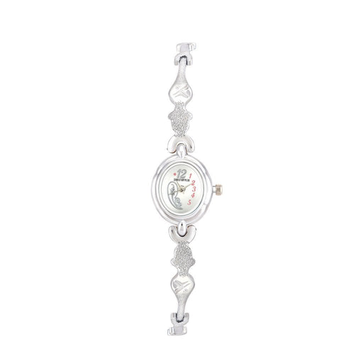 Shostopper Bracelete White Dial Analogue Watch for Women - SJ62067WW
