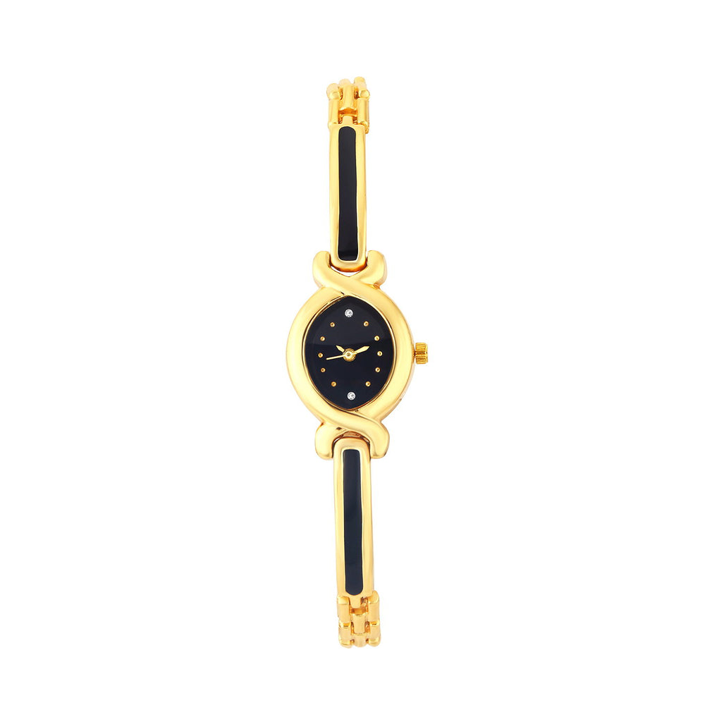 Shostopper Black Dial Analogue Watch For Women SJ62075WWV