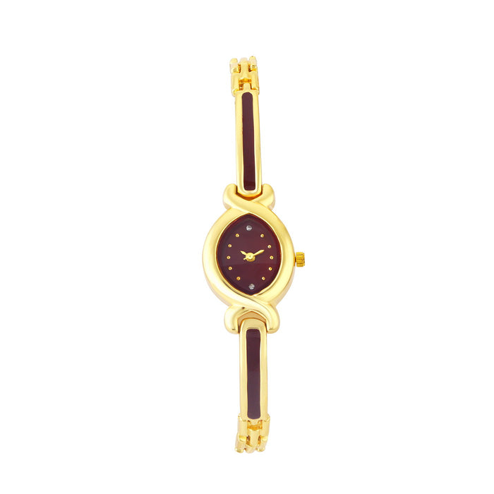 Shostopper Brown Dial Analogue Watch For Women SJ62076WWV