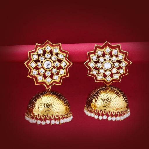 Sukkhi Equisite Gold Plated Jhumki Earring for Women