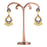 Sukkhi Ravishing Pearl Gold Plated Mint Collection Kundan Chandelier Earring for Women