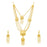 Sukkhi Amazing 24 Carat Gold Plated Floral Multi-String Necklace Set for Women