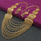 Sukkhi Incredible 24 Carat Gold Plated Multi-String Necklace Set for Women