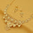 Sukkhi Sparkling 24 Carat Gold Plated Choker Necklace Set for Women
