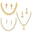 Sukkhi Trendy LCT Gold Plated Austrian Diamond Necklace Combo Set of 3 for Women