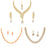 Sukkhi Modern LCT Gold Plated Austrian Diamond Necklace Combo Set of 3 for Women