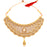 Sukkhi Marvelous Gold Plated LCT Stone Choker Necklace Set for Women