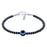 Sukkhi Astonish Oxidised Adjustable Beads Anklet for Women