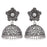 Sukkhi Incredible Oxidised Floral Jhumki Earring for Women