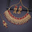 Sukkhi Excellent Gold Plated Red Pearl Choker Necklace Set With Maangtikka for Women