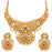 Sukkhi Marvelous Pearl Gold Plated Kundan Choker Necklace Set for Women