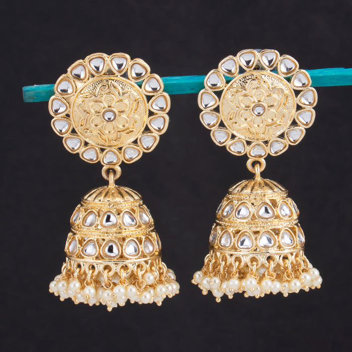 Sukkhi Classic Jhumki Gold Plated Earring For Women