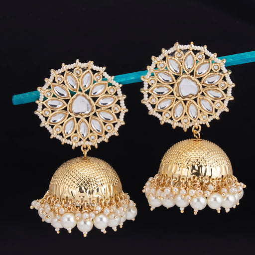 Sukkhi Stunning Jhumki Gold Plated Earring For Women