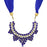 Sukkhi Trendy Blue Scarf Necklace for women