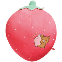 San-X Rilakkuma Strawberry Party Plush Doll Cushion
