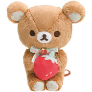 San-X Rilakkuma Strawberry Party Plush Doll