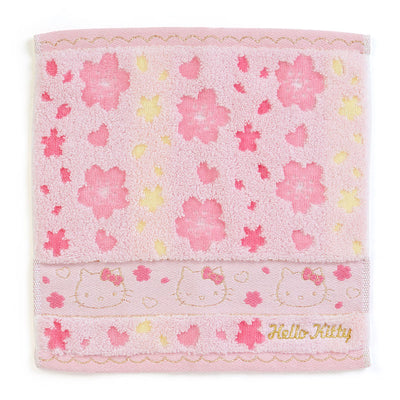"Sanrio ""OHANAMI"" Hello Kitty Sakura Hand Towel"