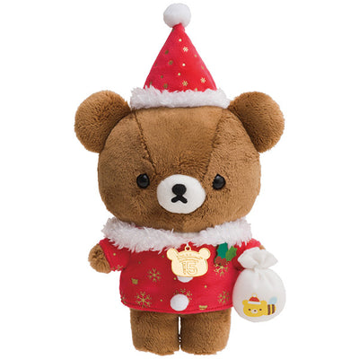San-X Rilakkuma 2018 Christmas Koguma Plush Doll 15th Limited