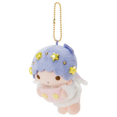 Sanrio Little Twin Stars Kiki Angel Christmas 2018 Plush Doll Keychain