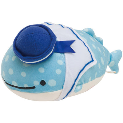 San-X Jinbesan with Deep sea Friends Jinbesan Super Mochi-Mochi Plush Doll