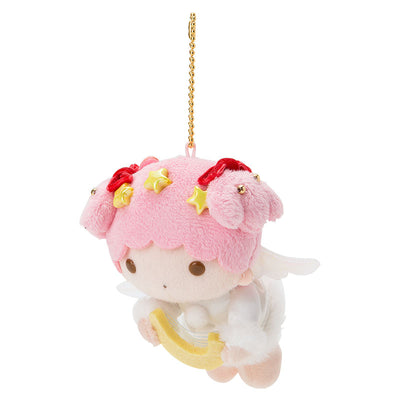 Sanrio Little Twin Stars Lala Angel Christmas 2018 Plush Doll Keychain