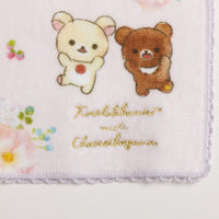 San-X Rilakkuma Korilakkuma meets Chairoi Koguma Mini Towel Purple