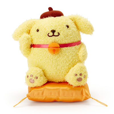 Sanrio Lucky Cat Plush Doll Pom Pom Purin