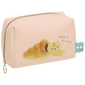 NEW San-X Coro Coro Coronya Cat Pouch Case Kawaii Japan