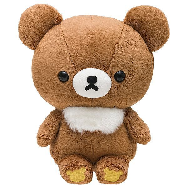 NEW San-X Rilakkuma Chairoikoguma Koguma Kuttari Plush Doll Stuffed Kawaii Japan