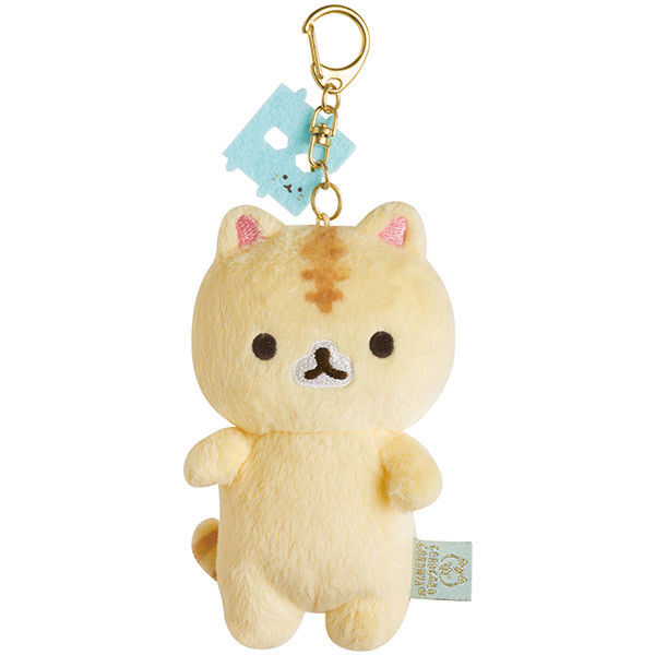 NEW San-X Coro Coro Coronya Cat Keychain Plush Doll Stuffed Toy Kawaii Japan