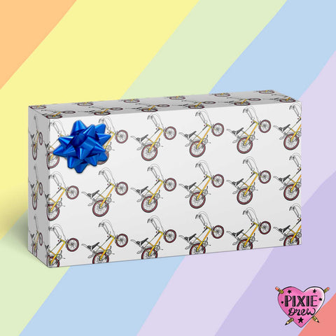 Custom Gift Wrapping Paper from Pixie Drew