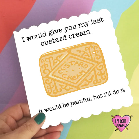 Pun Greetings Card from Pixie Drew