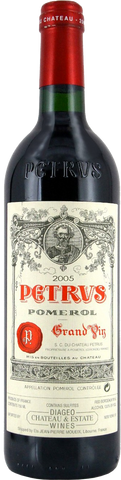 Chateau Petrus - Pomerol 2005   750ml