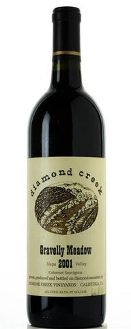Diamond Creek Cabernet Sauvignon Gravelly Meadow 2015  750ml