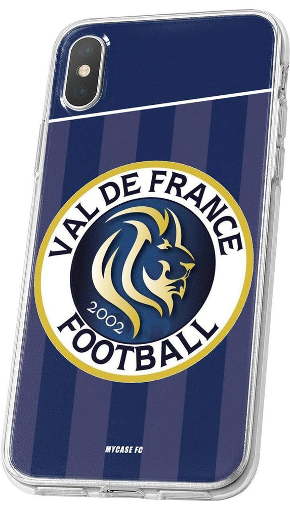 VAL DE FRANCE FOOTBALL - LOGO DOMICILE - MYCASE FC