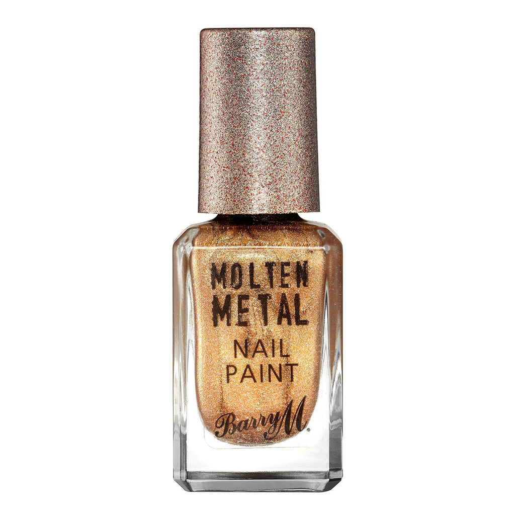 Barry M Molten Metal Nail Polish in Bronze Bae - Klasha