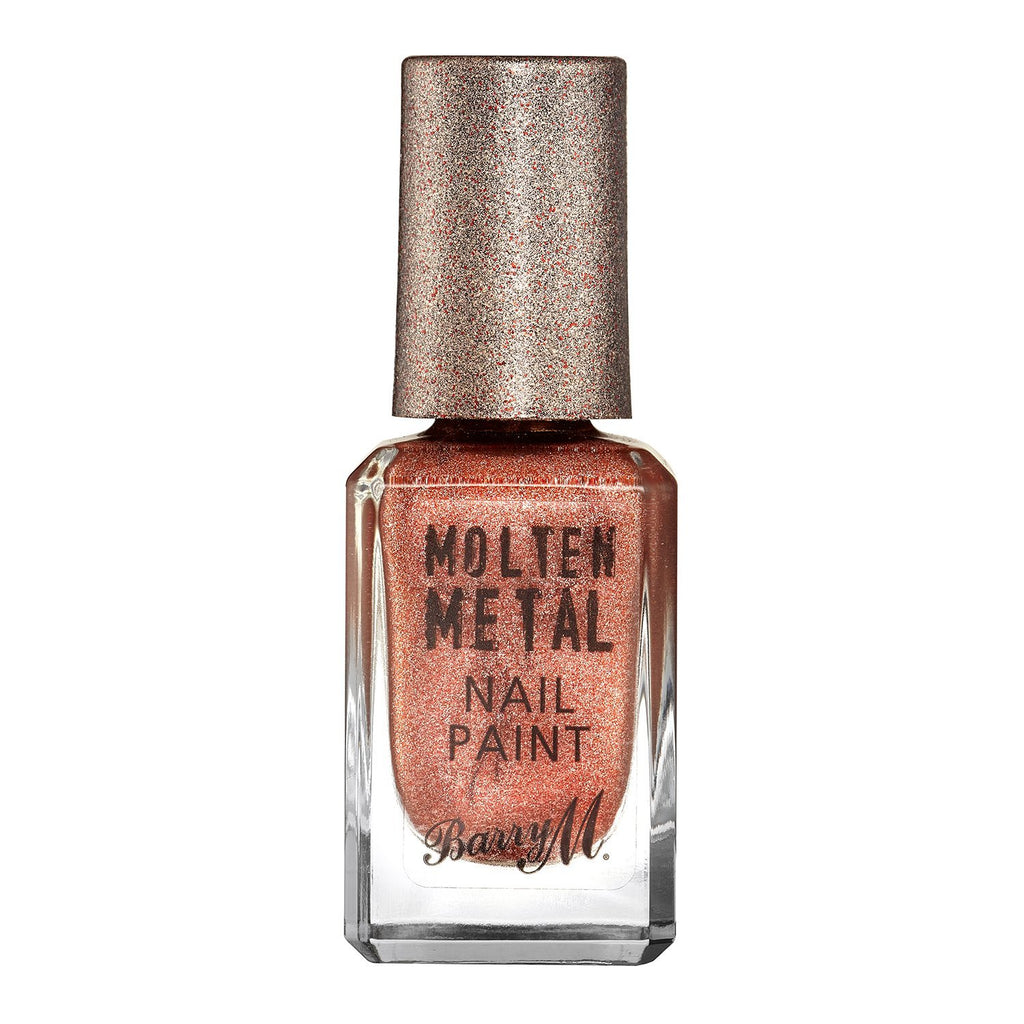 Barry M Molten Metal Nail Polish in Copper Mine - Klasha