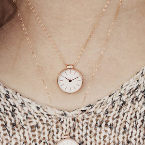 The Time Necklace || SILVER