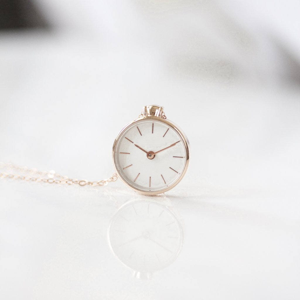 The Time Necklace || ROSE GOLD