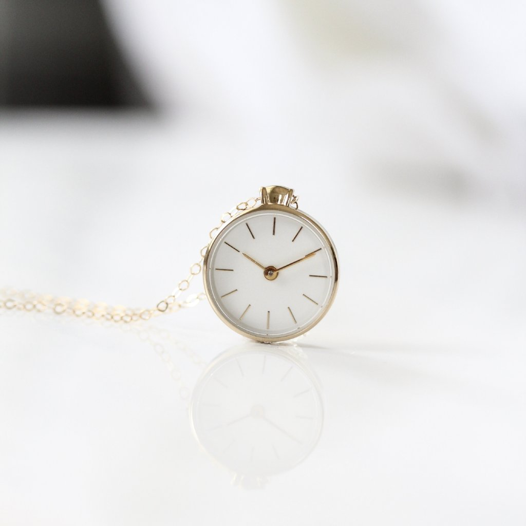 The Time Necklace || GOLD