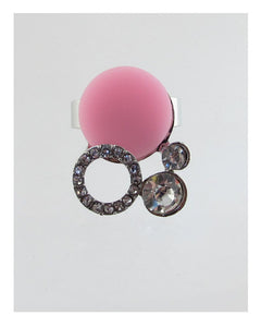 Adjustable faux stone ring - Creole Couture Boutique