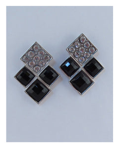 Layered square earrings - Creole Couture Boutique