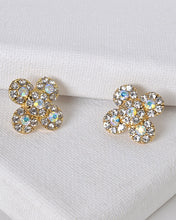 Floral Pattern Stud Earrings - Creole Couture Boutique